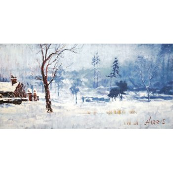 Other Artists Snow on Marshy Ground by Rolf Harris