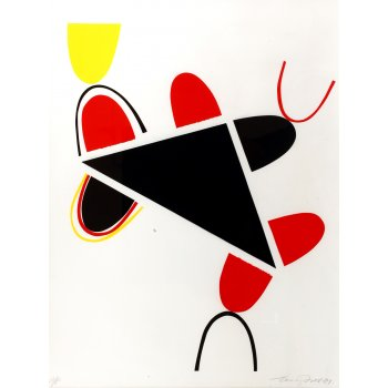 Terry Frost Yellow, Red and Black for Lorca