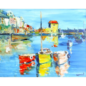 Lawrence Isherwood Blue Mevagissey