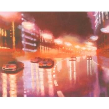 Other Artists City Glow I by Keith Fulford