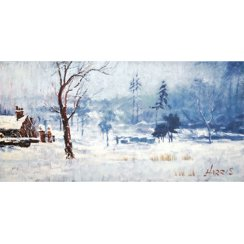 Snow on Marshy Ground by Rolf Harris