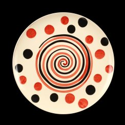 Terry Frost Design Spots and Spiral Plate